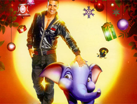 Akshay Kumar weaves his magic in 'Jumbo'