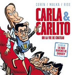 Sarkozy-Carla, stars of comic books