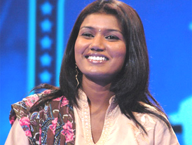Vaishali, the first female reality-show-star