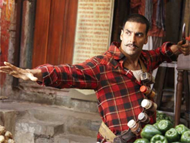 Akshay's flip from comedy to horror