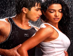 Shahid's promotional affair with Priyanka