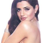 Ameesha Patel poses topless in a bid to draw attention