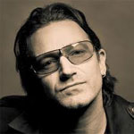 Bono compares Steve Jobs to Presley