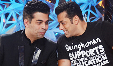 When Salman Khan spoke to Karan Johar about Shan Rukh Khan