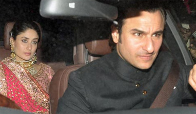 Bollywood, political bigwigs grace Saifeena's Dawat-e-Walima