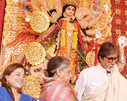 Navratri celebrations in Bollywood