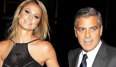 George Clooney, Stacey Kiebler still together