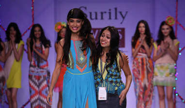 Wills Lifestyle India Fashion Week - Spring Summer 2013: Surily`s `Fever` sets the ramp on fire!