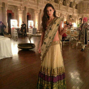 Demi Moore tweets ghagra-choli pic from pal's Jodhpur b'day bash