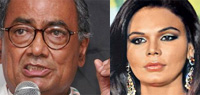 Digvijay Singh has gone out of his senses, alleges Rakhi Sawant