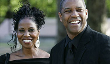 Denzel Washington`s wife disturbed with his role
