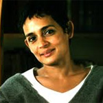 I'm working on a book: Arundhati Roy