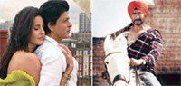 Grand opening for 'Jab Tak Hai Jaan', 'Son of Sardaar'; may join Rs.100 crore club