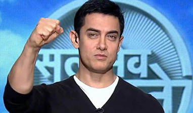 Aamir Khan asks health activists to fight malnutrition