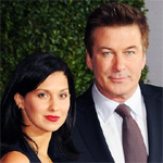 Alec Baldwin works out with wife