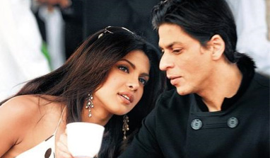 Shah Rukh Khan and Priyanka Chopra very much in touch?