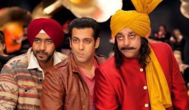 'Son of Sardaar' Ajay Devgn's special treat to Salman Khan