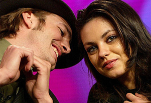Ashton Kutcher and Mila Kunis are inseparable on lunch date in LA