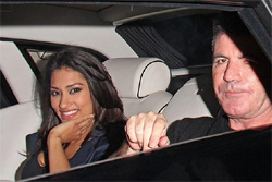 Simon Cowell dating Janina Gavankar?