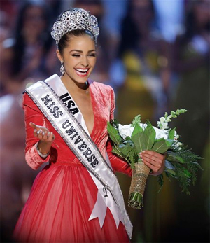 Miss Universe 2012 is Miss USA