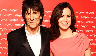 Ronnie Wood marries 31 years younger lover Sally Humphreys