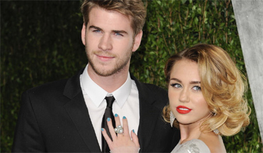 Liam Hemsworth to celebrate Christmas with Miley Cyrus