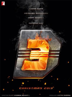 First logo poster of Aamir Khan's 'Dhoom 3' unveiled