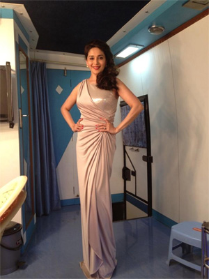 Madhuri Dixit steals the show at Golden Petal TV Awards