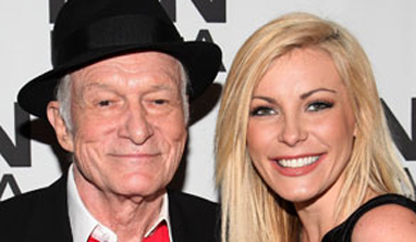 Hugh Hefner, Crystal Harris obtain marriage certificate