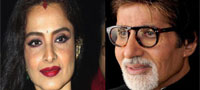 Big B open to working with Rekha again