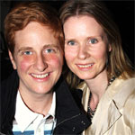 Cynthia Nixon weds girlfriend Christine Marinoni