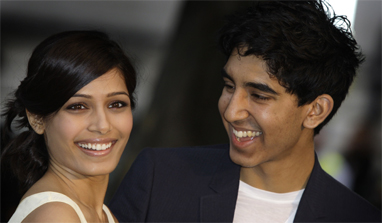 Dev helped me handle fame: Freida Pinto