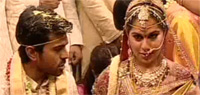 Ram Charan's star studded wedding (Video Inside)
