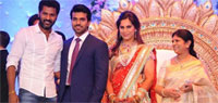 Ram Charan-Upasana's wedding reception was lavish