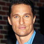 No more rom-coms for Mathew Mcconaughey