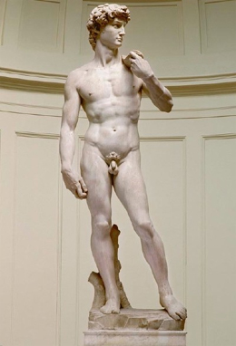 Nude David statue by Michelangelo censored on Chinese TV