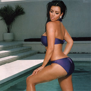 Now toned Kim Kardarshian feels confident in bikini