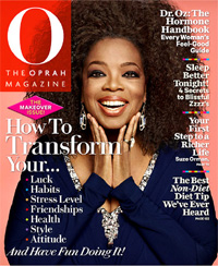 Oprah Winfrey reveals natural hair on mag cover (Pic Inside)