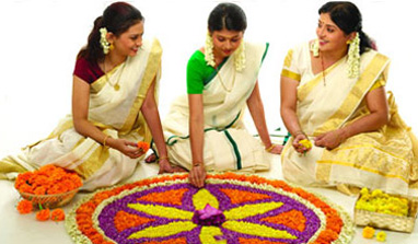 Pookalam contest in Delhi to mark Onam