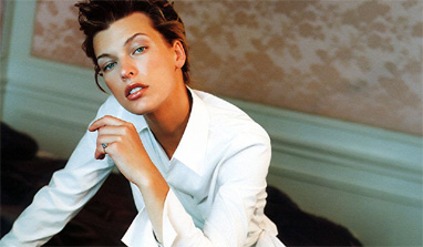 Mila Jovovich was once arrested for stolen credit cards