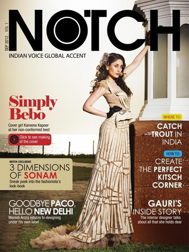 'Heroine' Kareena Kapoor now on the cover of Notch!