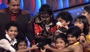 Team Yahoo wins `DID Dance ke Superkids`