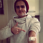 Tom Fletcher backs blood donation campaign