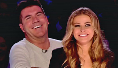 Carmen Electra not dating Simon Cowell