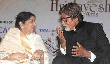 I want to sing with Amitji: Lata Mangeshkar