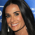 Demi Moore splashes around Mexico beach with younger man