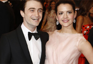 Daniel Radcliffe flirts with Erin Darke