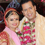 Rahul Mahajan takes away all the limelight, says wife Dimpy Ganguly