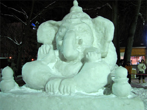 Odisha artist to carve snow Ganesh in Japan