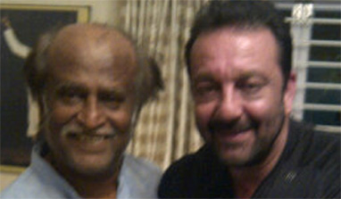 Sanjay Dutt`s rendezvous with Rajinikanth